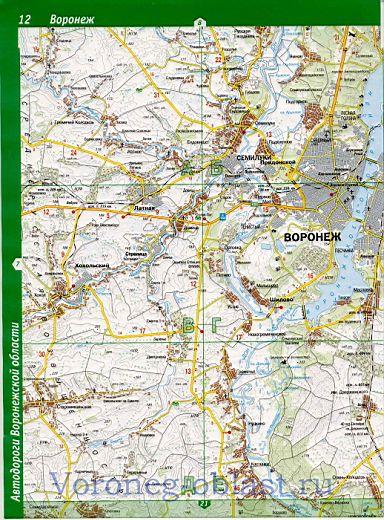 Карта Семилукского района. Подробная карта автодорог ...: http://voronezh-oblast.ru/872351.html